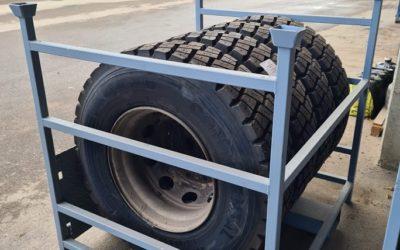 Rack à pneus